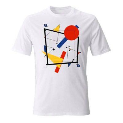 Everything's a canvas. T-shirt inizialmente realizzata per la campagna Iorestoacasaartistiuniti, raccolta fondi per la croce rossa italiana durante il lockdown