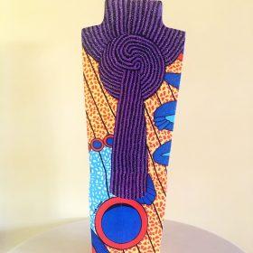 Kadi. Acrilico su legno. h 50 cm. 2019. (3)