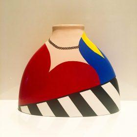 Milena. Acrilico su ceramica. 2019. (commissione) (1)