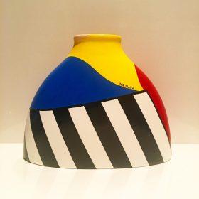 Milena. Acrilico su ceramica. 2019. (commissione) (2)