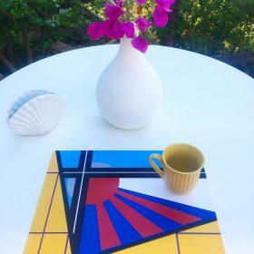 Tovagliette americane in PVC con stampate 4 mie opere vendute in confezioni da 4, 1 tovaglietta per disegno (4)