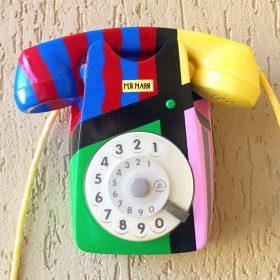 Tutti frutti. Telefono anni 60. (1)