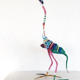 Uccello. Acrilico su ferro battuto. 2015. (2)